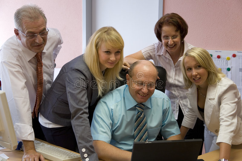Team stockfotografie