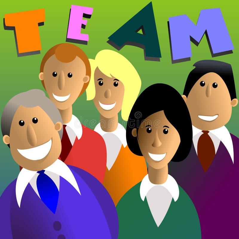 Team royalty-vrije stock afbeelding