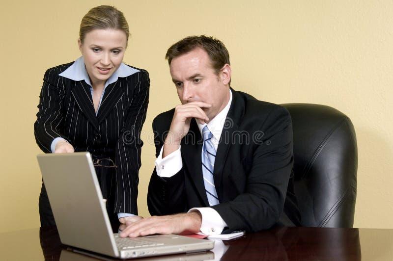 Team analysis royalty free stock image
