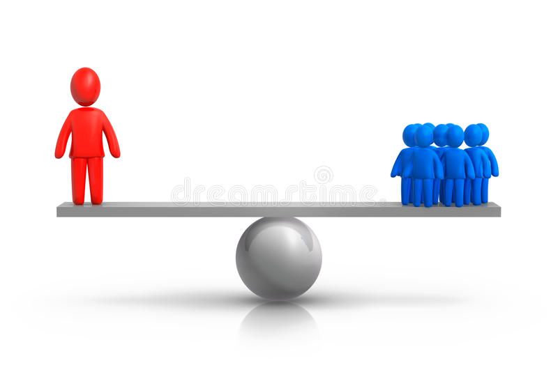 Download Team Balance stock illustration. Illustration of scale - 23239156