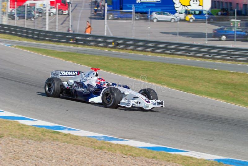 Team BMW-Sauber F1, Robert Kubica, 2006 Editorial Stock Image