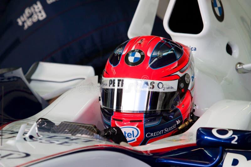 Team BMW-Sauber F1, Robert Kubica, 2006 stock image