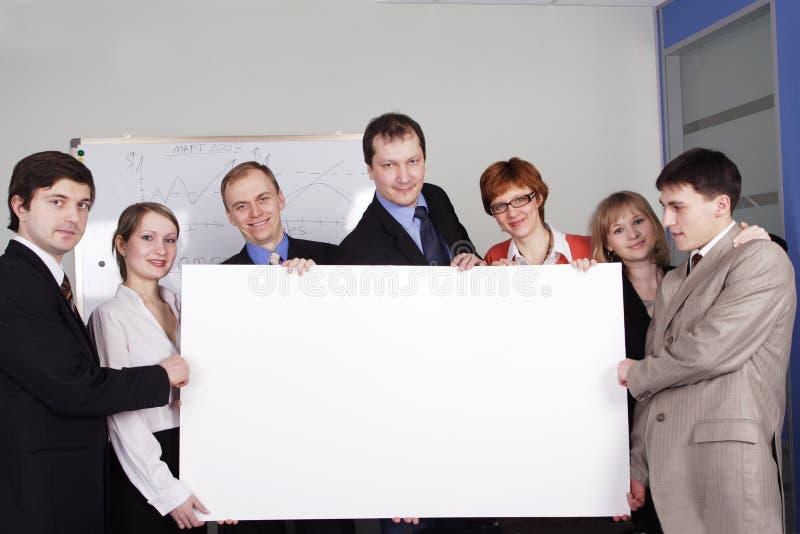 Team board stock image