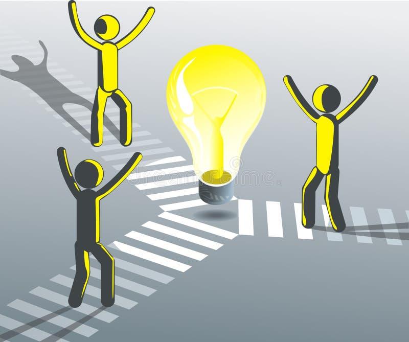 Download Team brainstorm stock vector. Illustration of solvation - 15944145