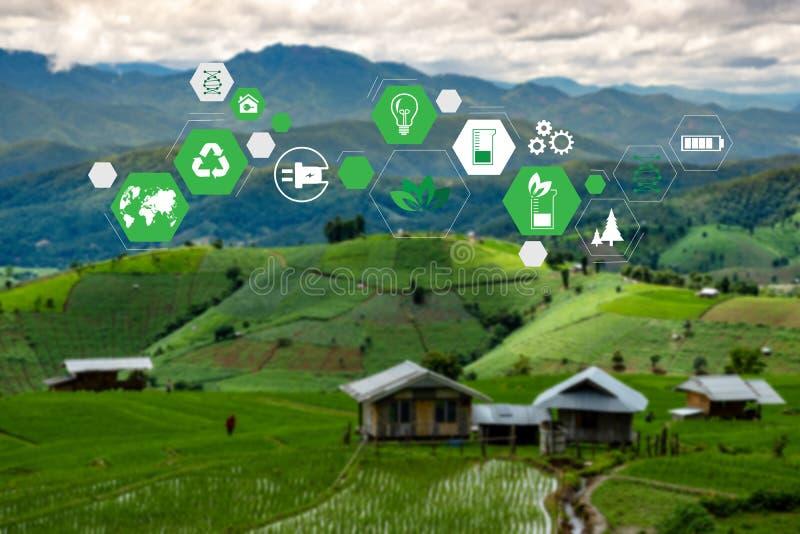 Team Business energy use, sustainability Elements energy sources sustainable stock image