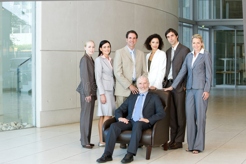Download Team of business people stock photo. Image of ladies, female - 8693722