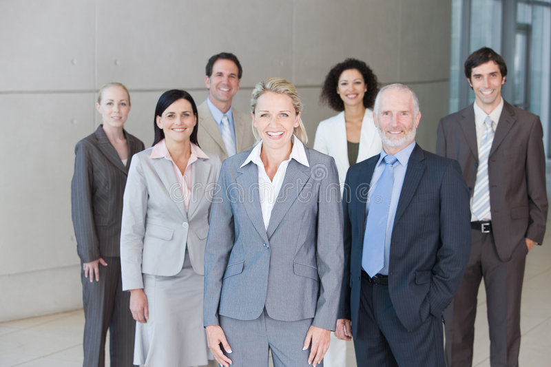 Team Of Business People Royalty Free Stock Photos