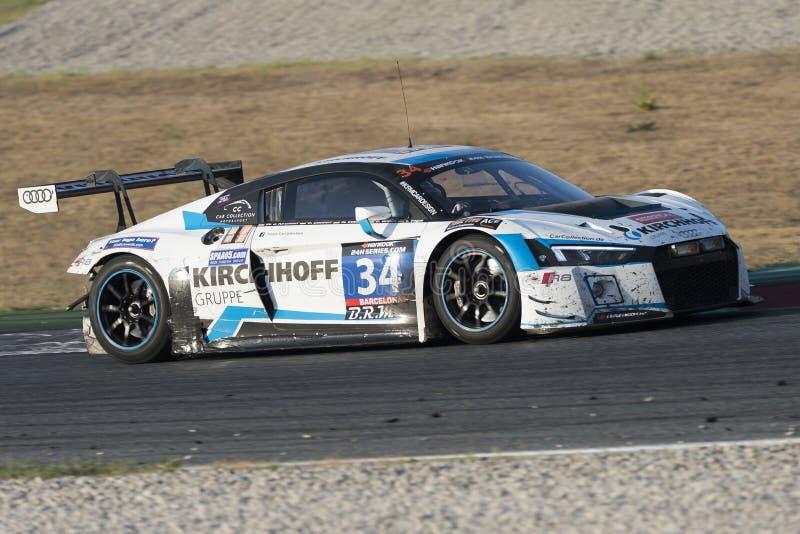 Team Car Collection Motorsport audilms r8 arkivfoto