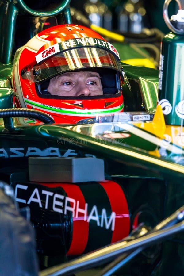 Team Catherham F1, Jarno Trulli, 2012