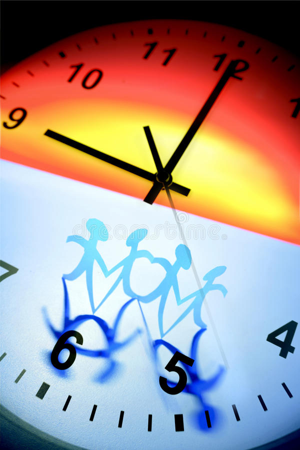 Download Team and clock stock photo. Image of challenge, ideas - 15731558