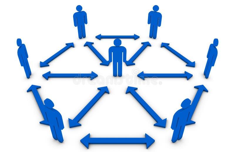 Download Team concept stock illustration. Illustration of follow - 15063916