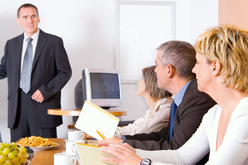 Download Team In The Conference Room Stock Photo - Image: 3298824