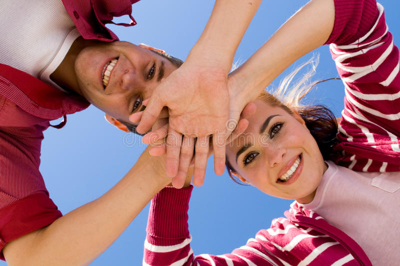 Download Team couple stock image. Image of activity, energetic - 10043273
