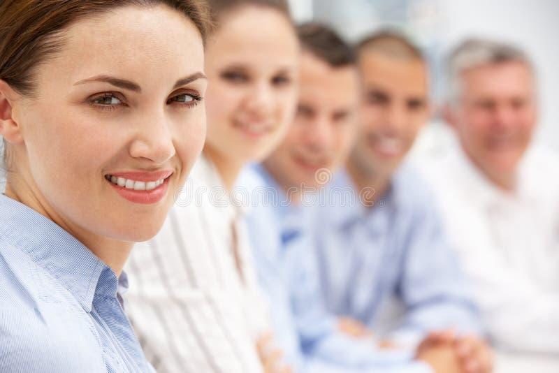 Team der Geschäftsleute lizenzfreies stockbild