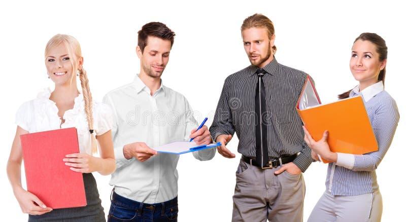 Team der Geschäftsleute lizenzfreies stockfoto