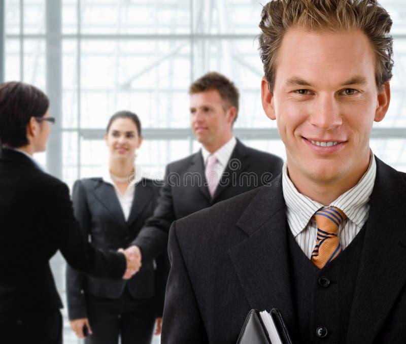 Team der Geschäftsleute stockfoto