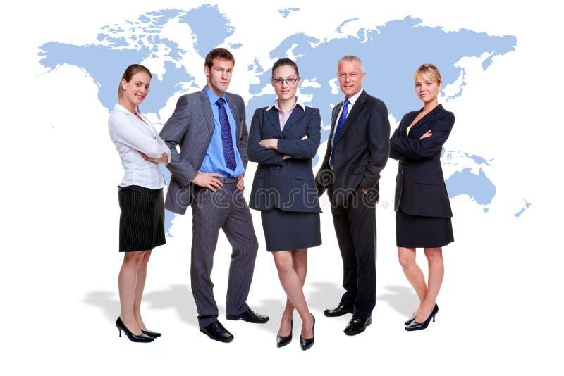 Team des globalen Geschäfts lizenzfreies stockfoto