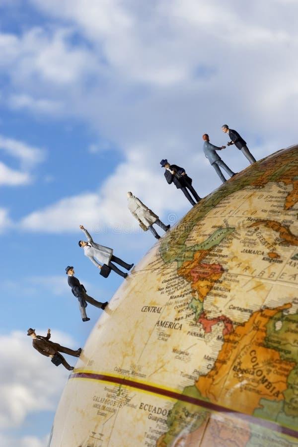Team des globalen Geschäfts lizenzfreies stockbild