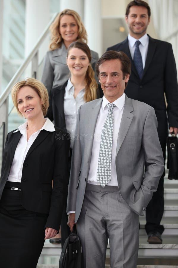 Team of executives stock photos