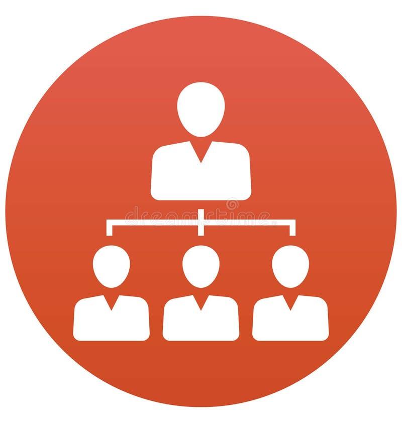 Team, Geschäft kann Team lokalisierte Vektor-Ikone leicht sein redigieren und ändern lizenzfreie abbildung