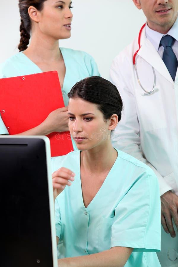 Healthcare professionals stock photo