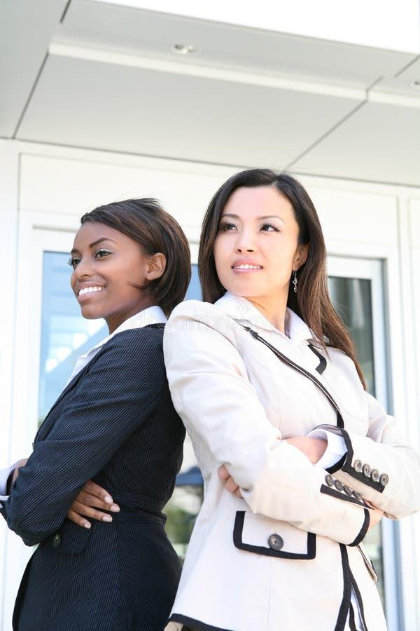 Team het bedrijfs van de Vrouw stock fotografie
