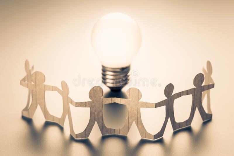 Team Idea Team Success imagenes de archivo