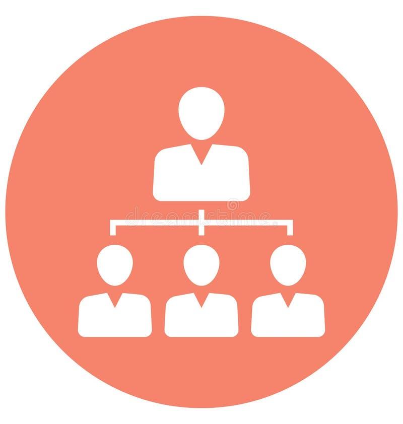 Team, l'icône de vecteur d'isolement par équipe d'affaires peut être facilement éditent et modifient illustration stock