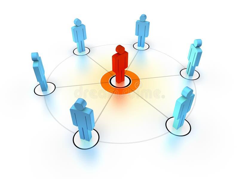 Download Team Leader stock illustration. Illustration of executive - 10388956