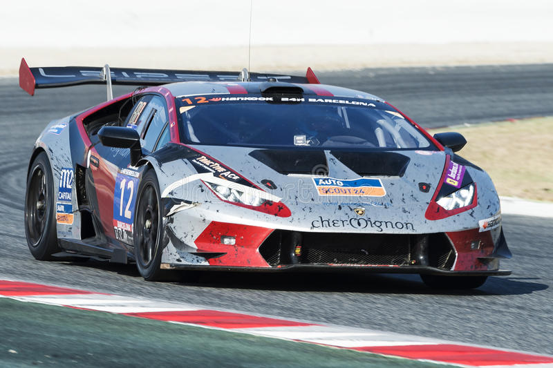 Team Leipert Motorsport Lamborghini Huracan Trofeo superbe photos libres de droits