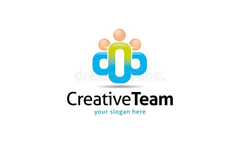 Team Logo creativo illustrazione vettoriale