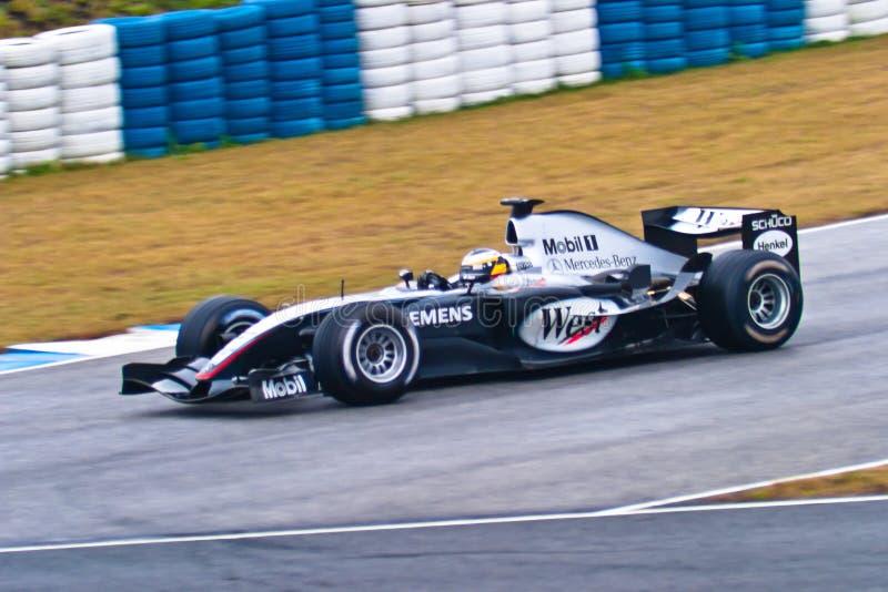 Team McLaren Mercedes F1, Pedro de la Rosa , 2004 stock photography