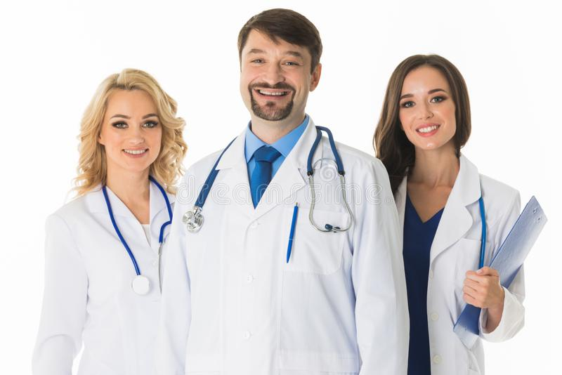 Team of medical doctors stock photos