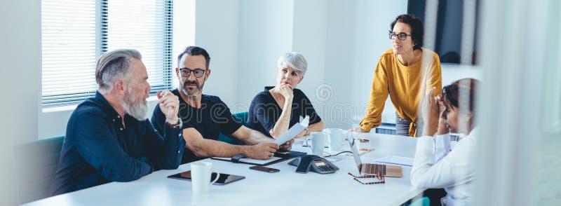 Team Meeting royalty-vrije stock fotografie