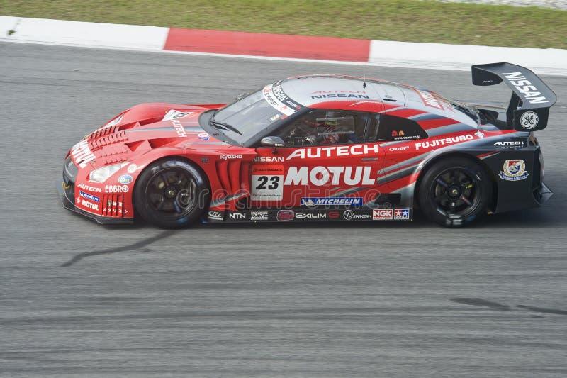 TEAM NISMO VAN DE REEKS Â VAN JAPAN HET SUPER GT royalty-vrije stock afbeeldingen