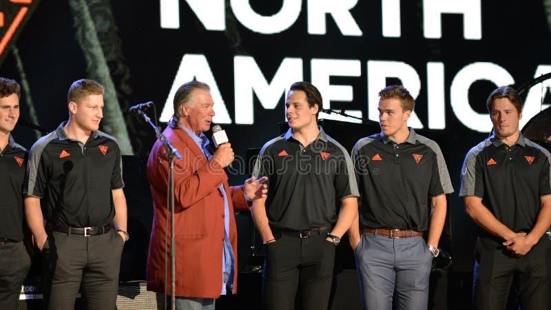 Team North Amerika lizenzfreies stockbild