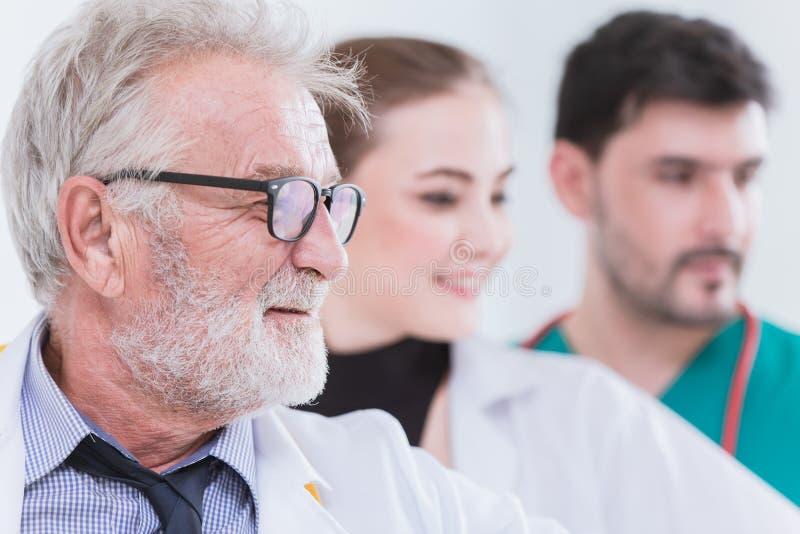 Team o trabalhador do doutor Nurse em cuidados médicos do hospital fotos de stock