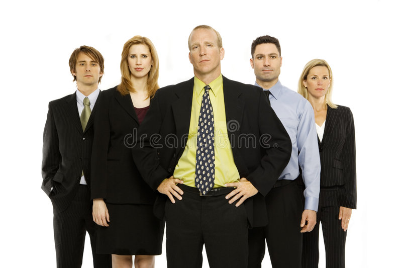 Download Team of office workers stock photo. Image of together - 2386366