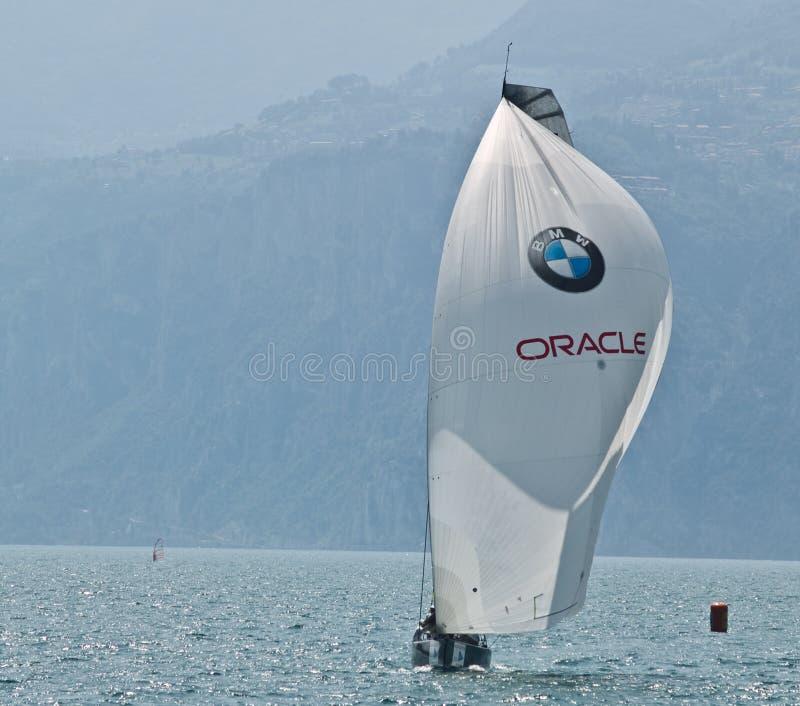 Team Oracle stock photo
