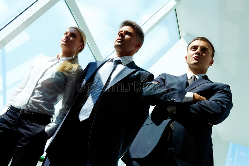 Team Of Partners Stock Photo