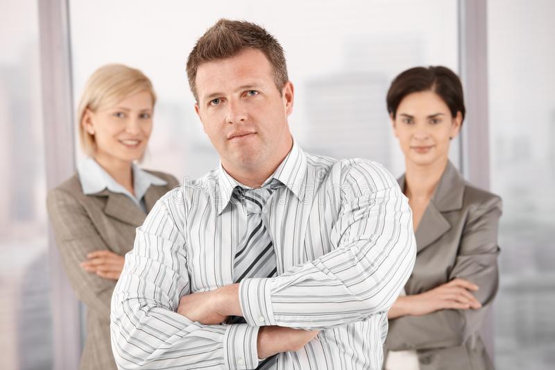 Download Team Portrait Of Mid-adult Professionals Stock Image - Image: 18076877