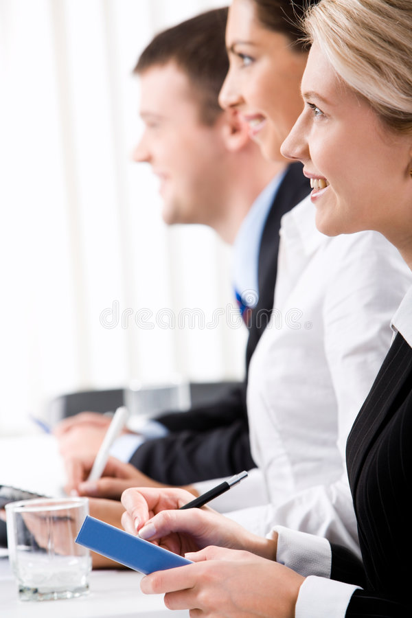 Download Team of professionals stock photo. Image of looking, presentation - 3611898