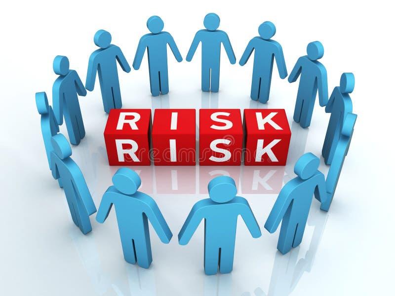 Team Risk Management lizenzfreie abbildung