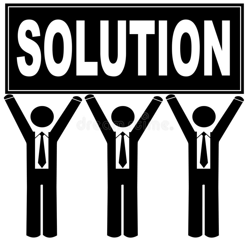 Download Team With Solution Stock Image - Image: 6500041