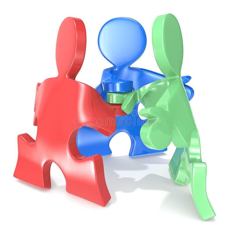 Download Team Spirit. stock illustration. Image of gesture, business - 34139432