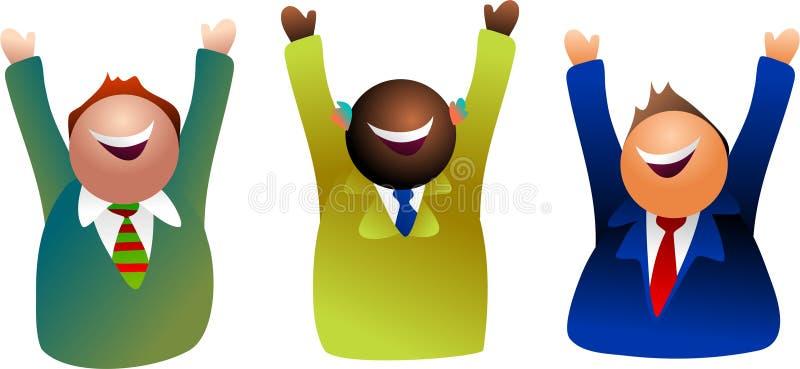 Team success vector illustration