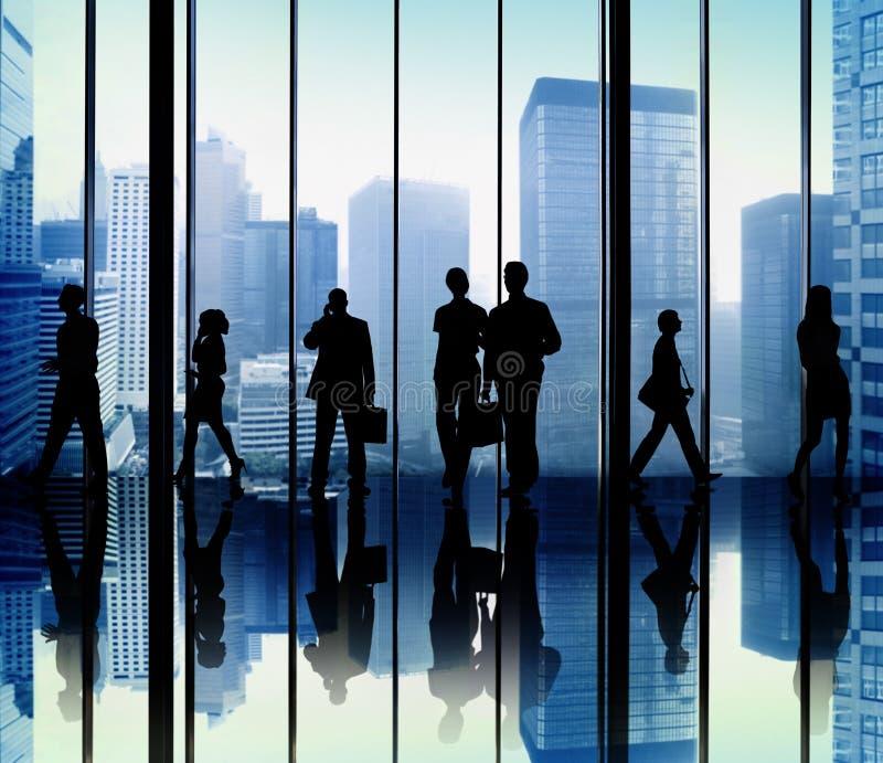 Team Teamwork Collaboration Corporate Concept fotografie stock libere da diritti