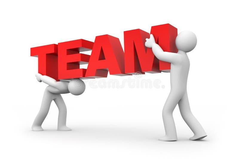 Team. Teamwork concept stock illustration