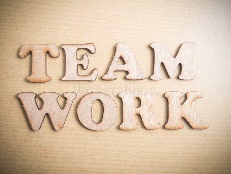 Team Teamwork, concetto motivazionale di citazioni di parole fotografie stock