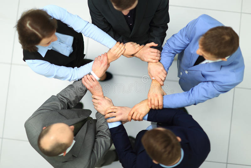 Team Teamwork Togetherness fotografia stock libera da diritti